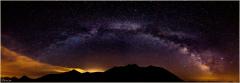Panoramique du col de l'Izoard