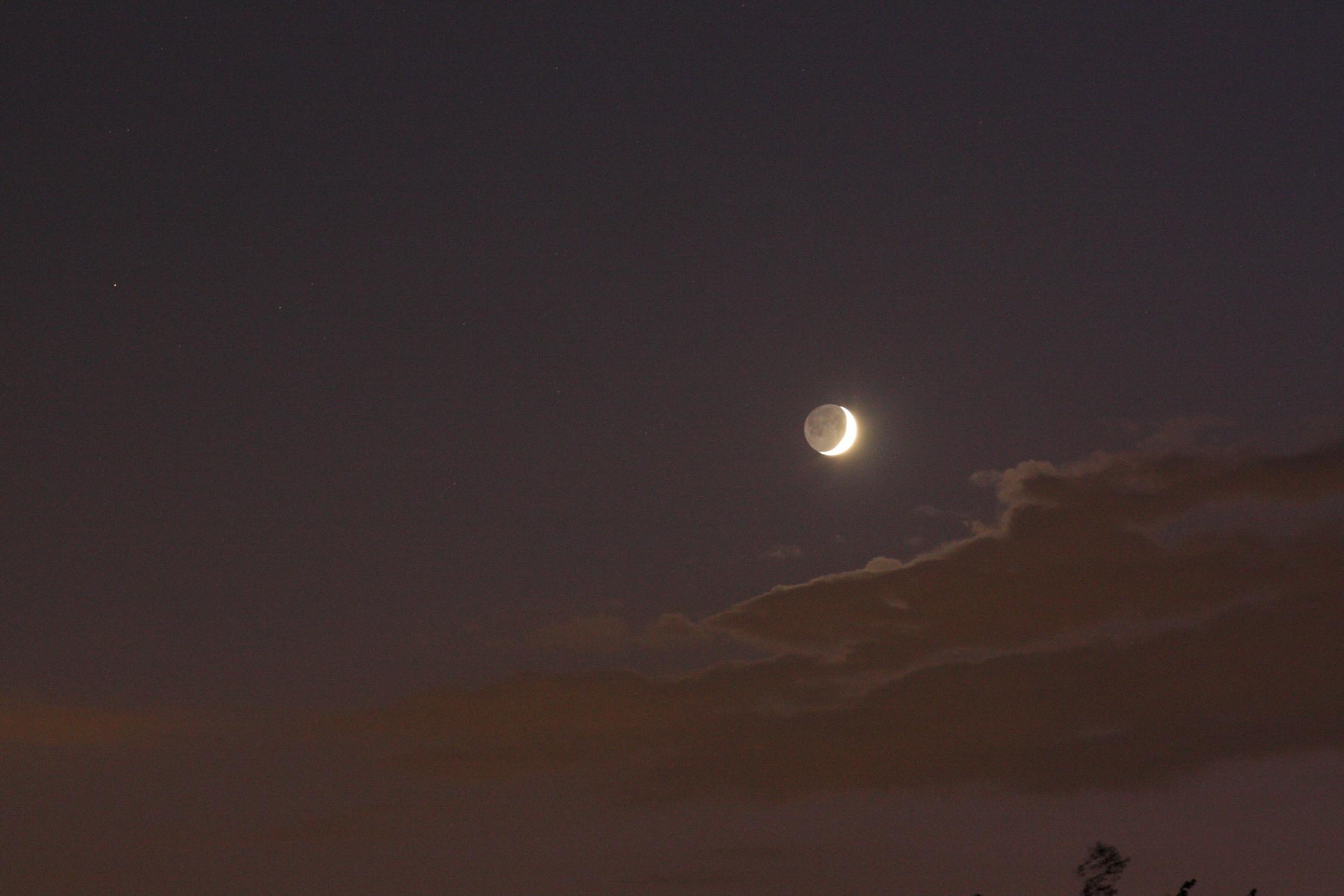 Lune cendrée du 02/09/2019