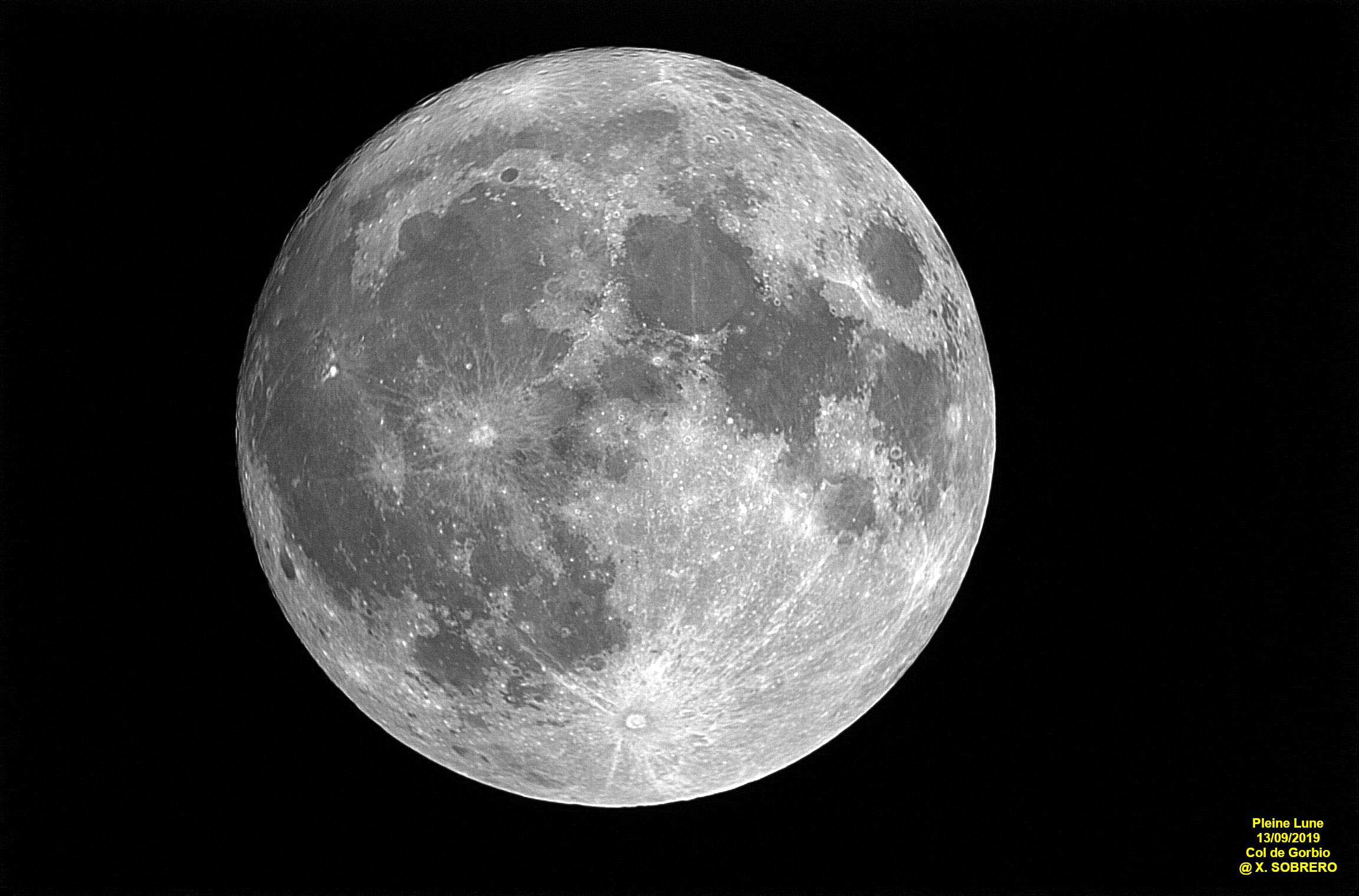 Pleine Lune du 13/09/2019