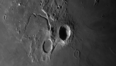 Lune 26/08/2019 C14 ASI290 Barlow 2x Clavé : ARISTARQUE
