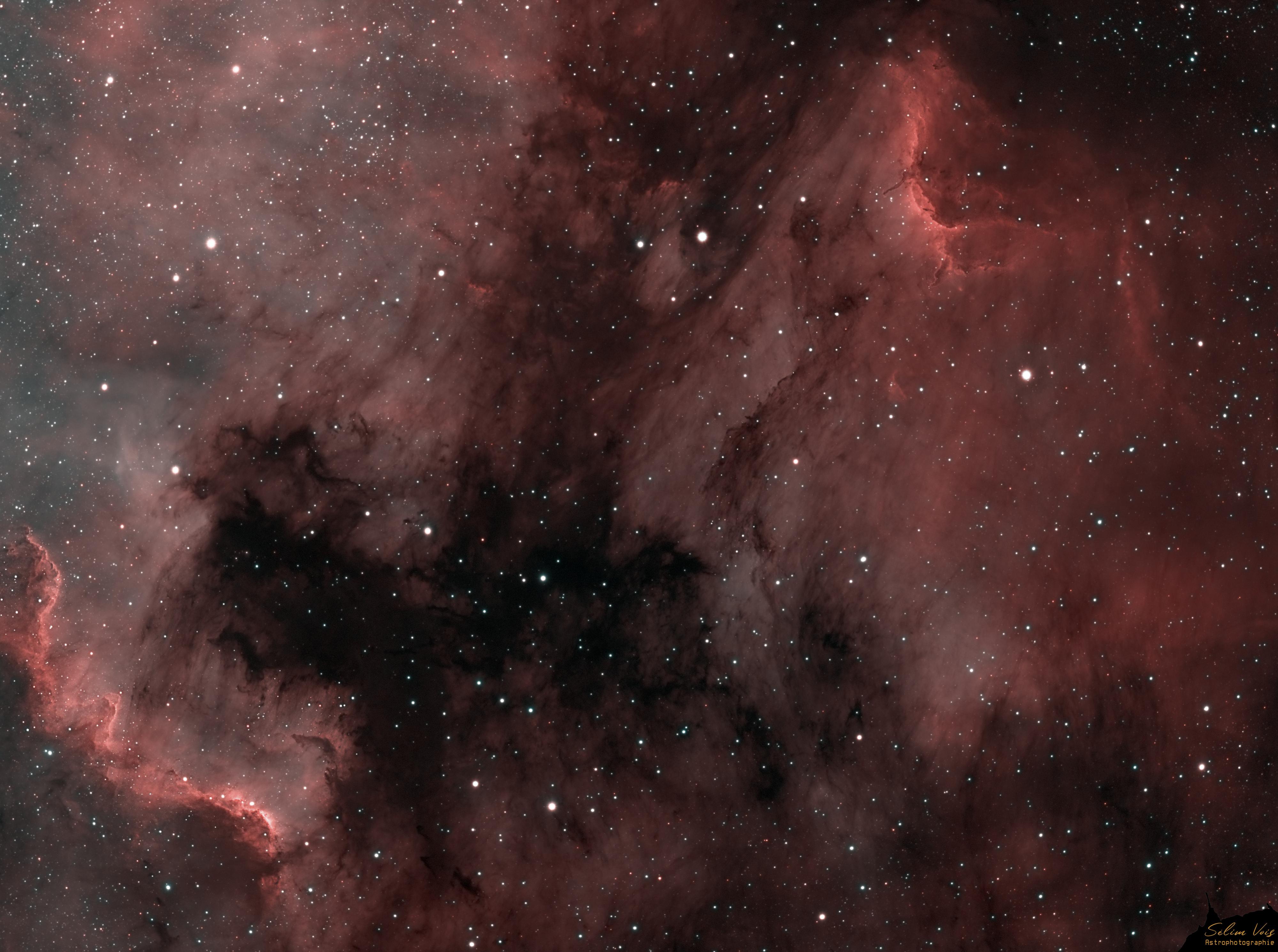IC4070 NGC7000 HHOO