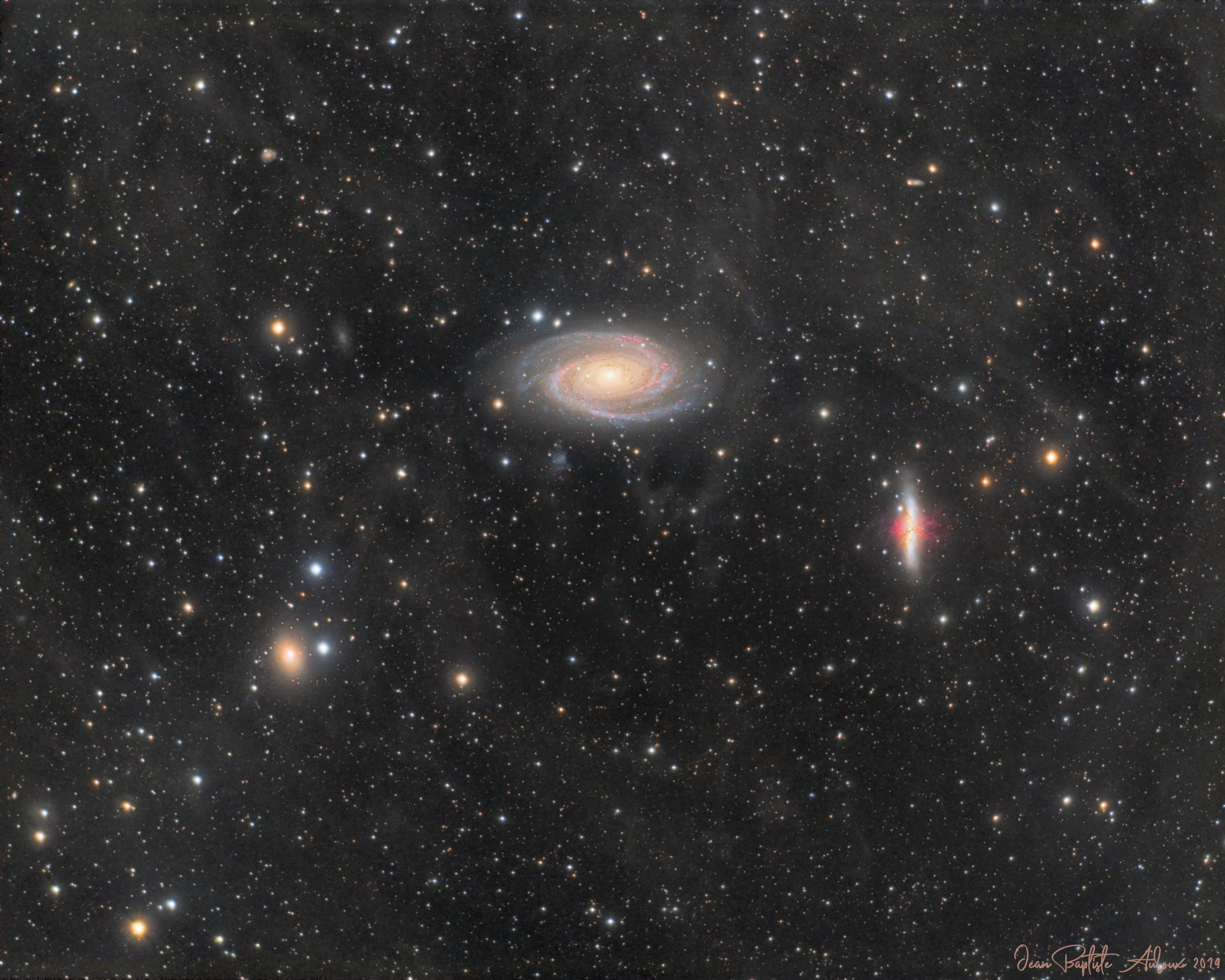 M81, M82 & IFN
