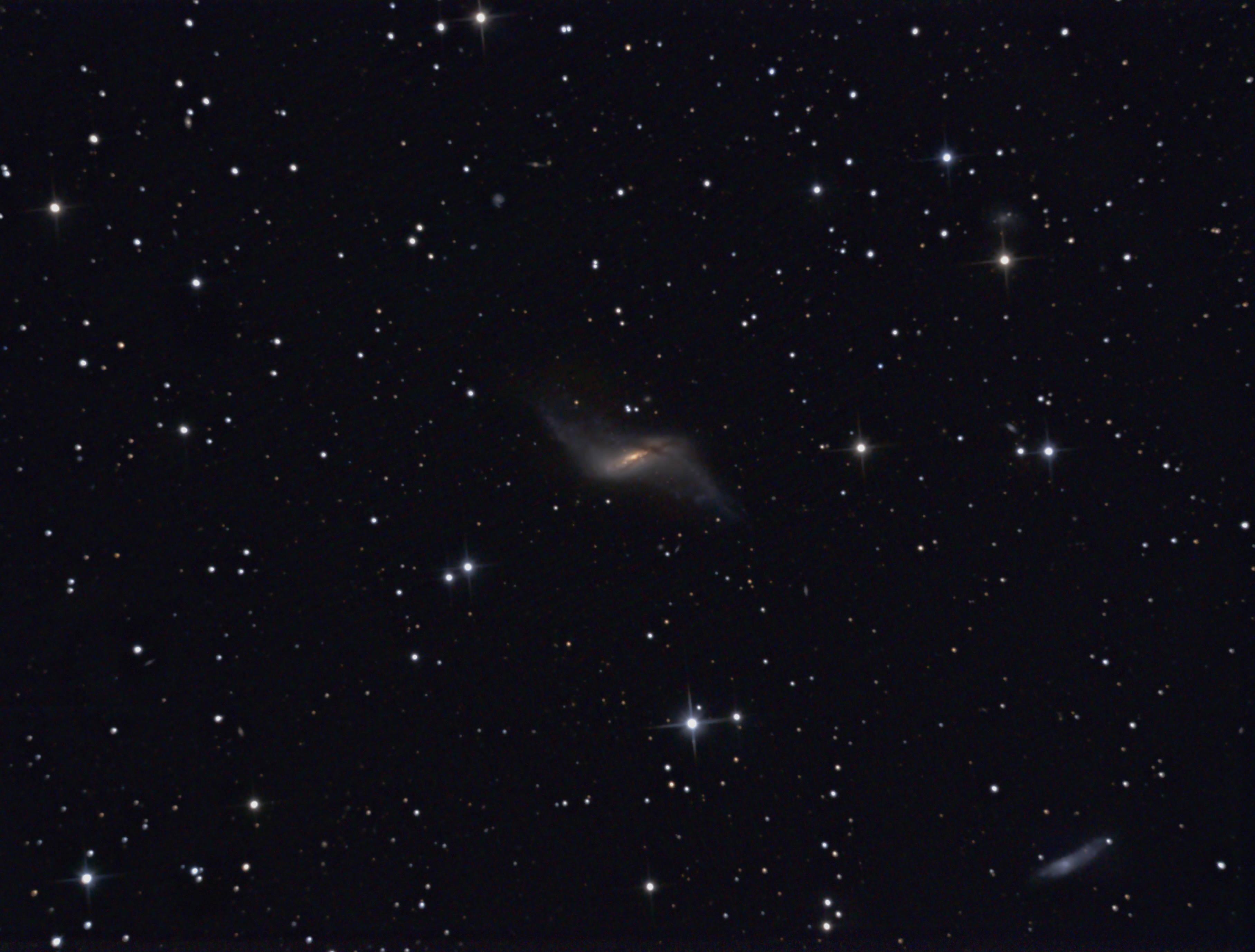 NGC660 dans la constellation des Poissons
