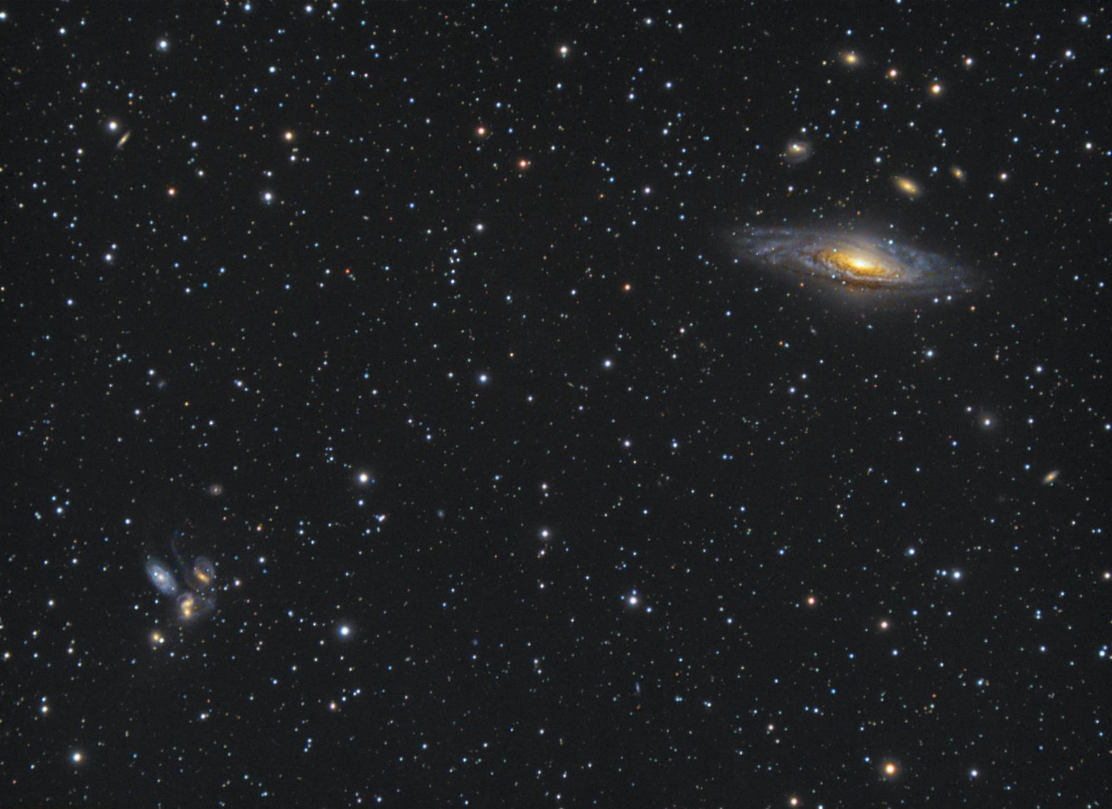 NGC 7331 & Quintette de Stephan