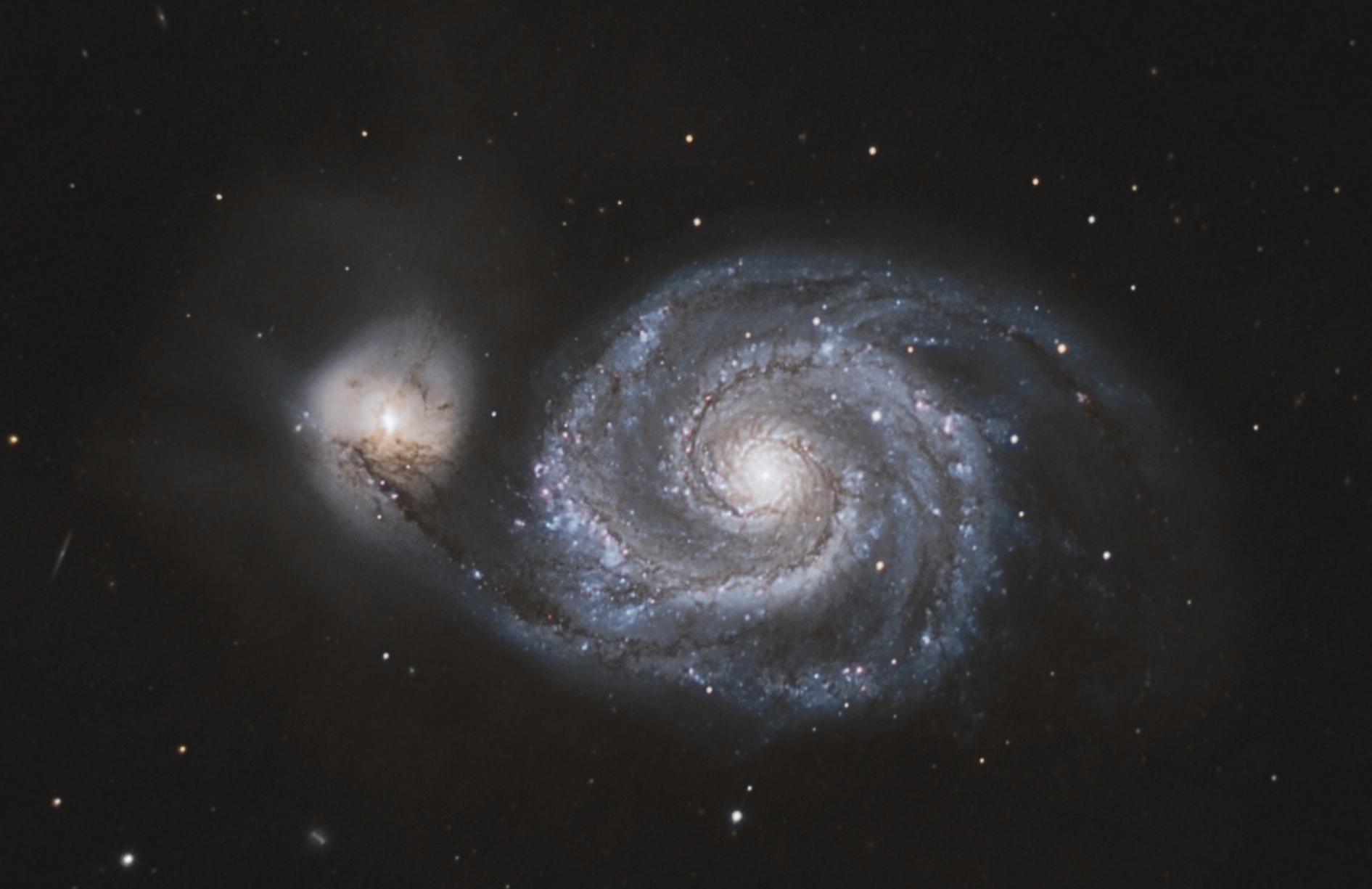 """Whirlpool Galaxy"" M51"