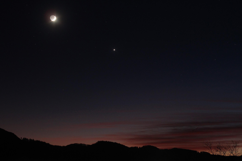 Coucher de la Lune et de Vénus le 29.12.2019.JPG