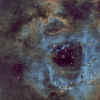 NGC2237 - La Rosette SHO palette Hubble
