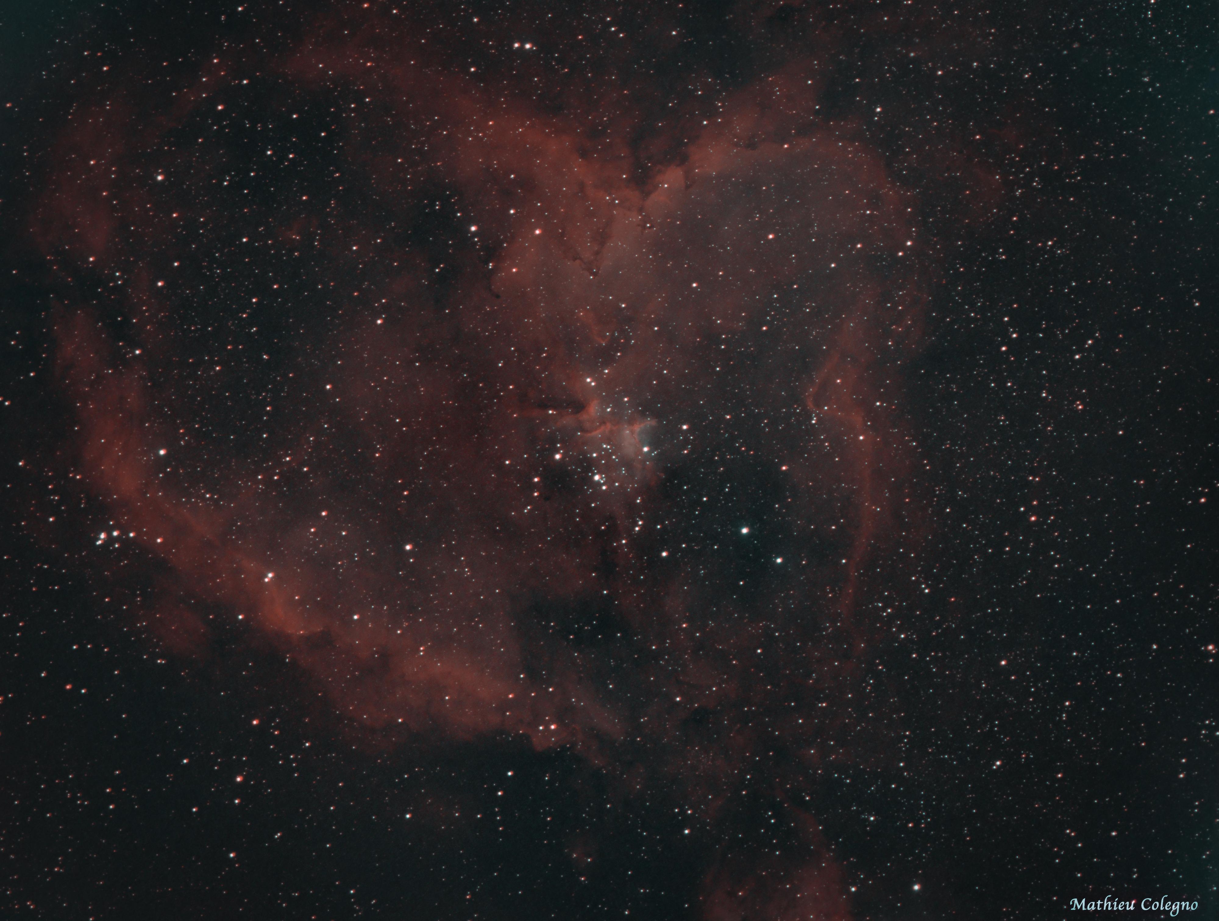 IC1805 HOO - Nébuleuse du coeur