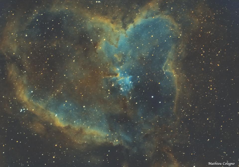 IC1805 SHO - Nébuleuse du coeur