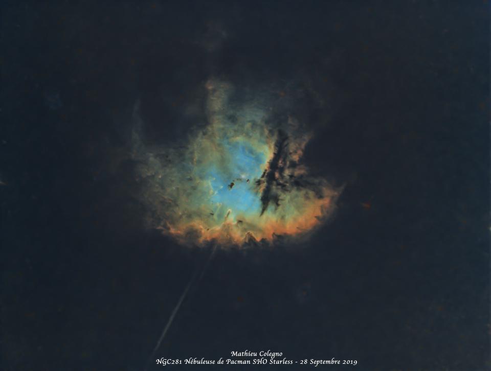 NGC281 - Nébuleuse de Pacman version Starless