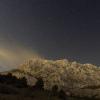 La Sainte Victoire sous les étoiles - Le mistral se lève...