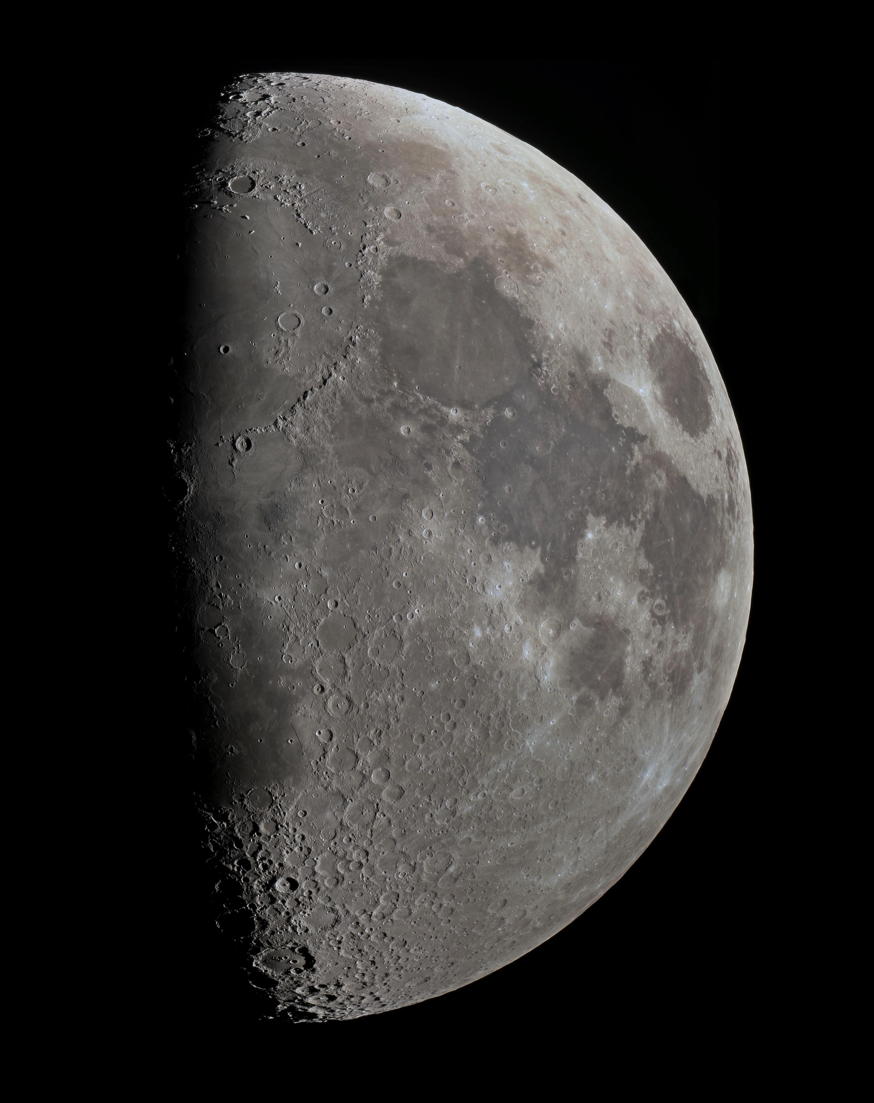 Lune du 3 mars 2020 ( Cassegrain 250mm + A7s au foyer en mode APS-C )