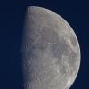 La lune du 3 mars 2020 au crépuscule, Taka FC76 et Nikon D810