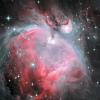 Grande nébuleuse d'Orion (M42) - LHa-HGBO