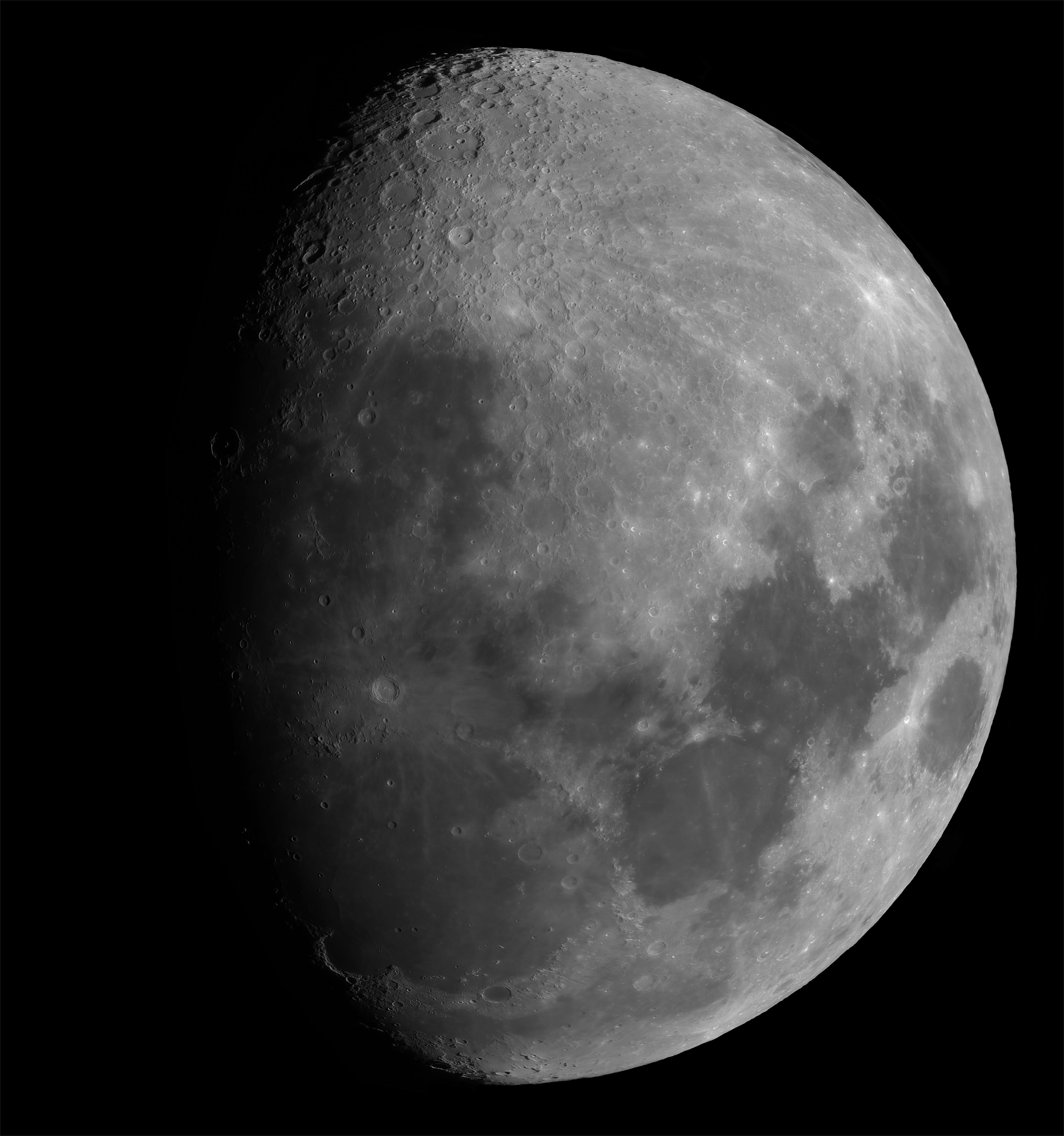Lune  gibeuse du 4 avril 2020, grande mosaïque.