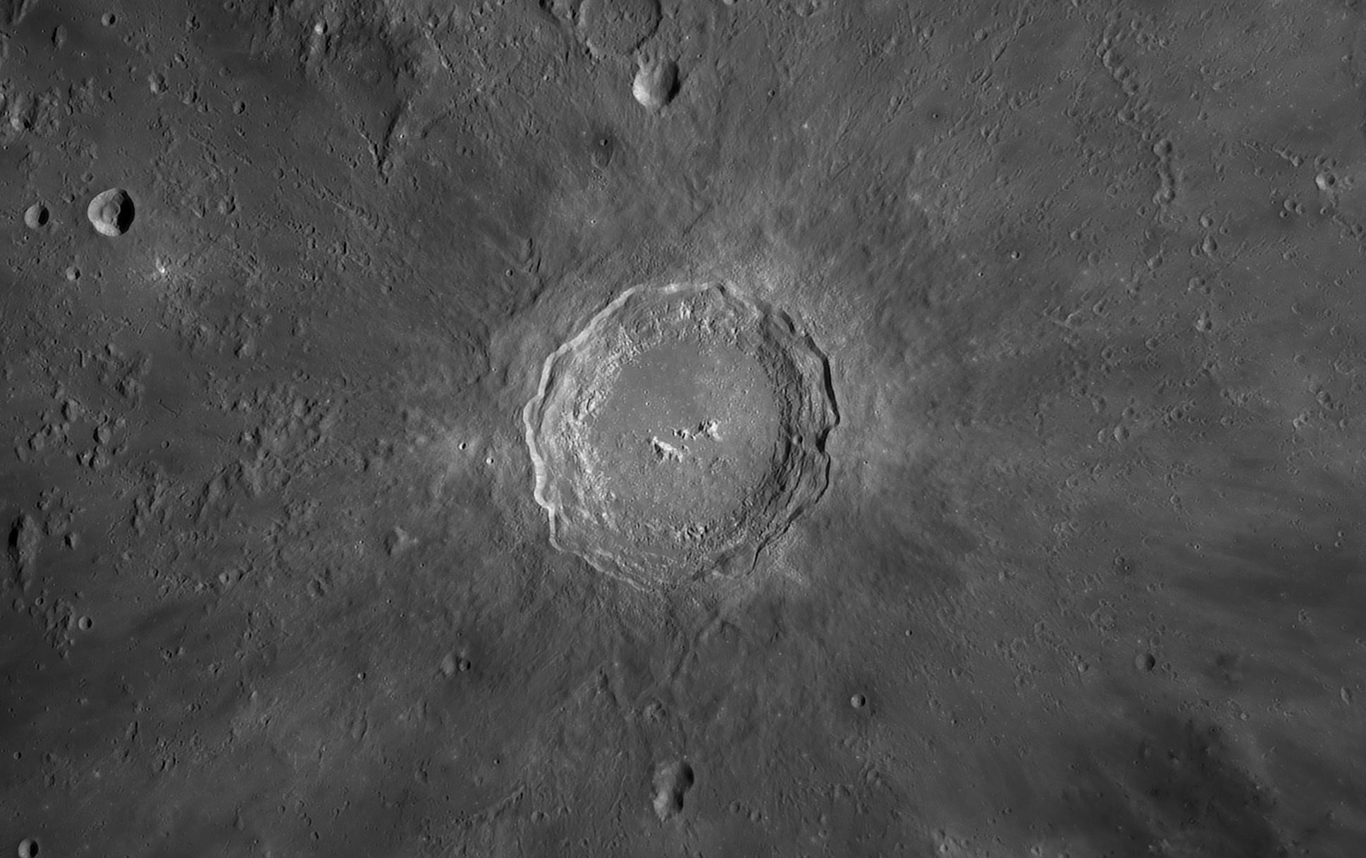 Copernicus au C14, le 4 Avril 2020: 700 images, caméra 174MM, Baader FFC, ADC Pierro Astro, filtre Astronomik orange 2c