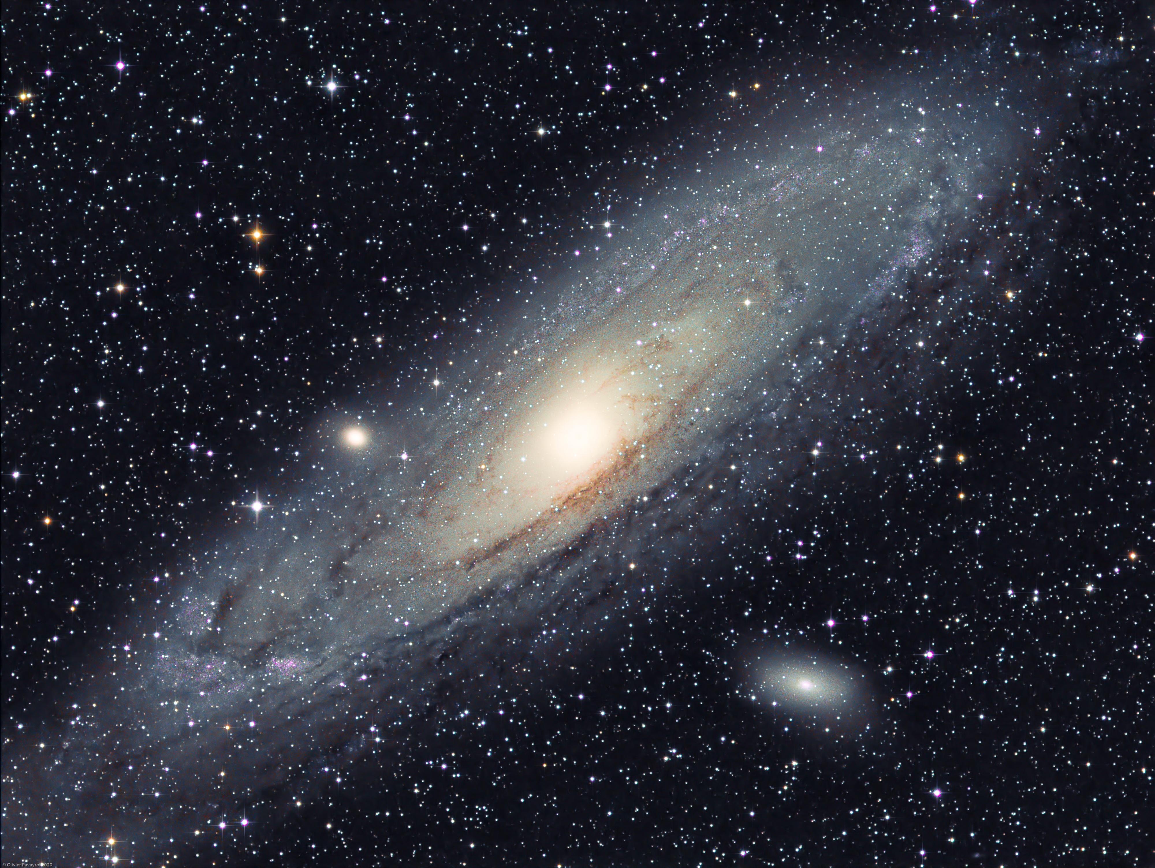 La galaxie d'Andromède - M31 (L-RGB)