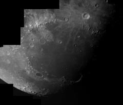 Deuxième composition lunaire avec la Scopetech ST80-L