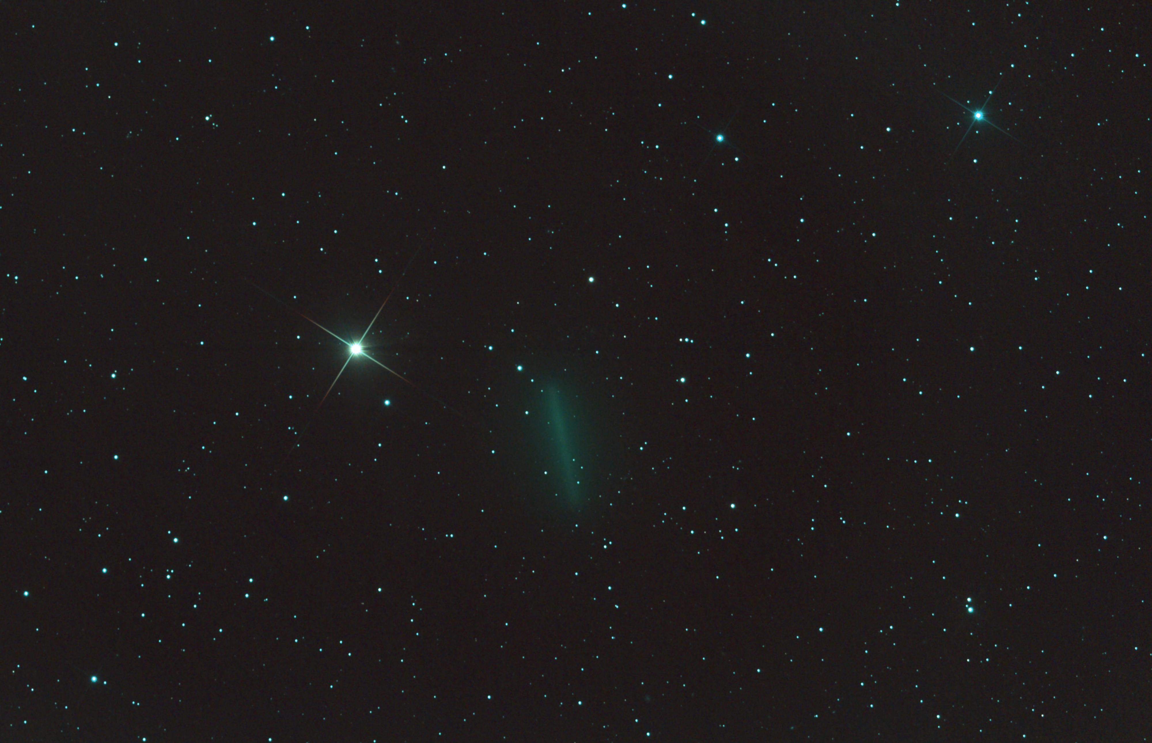 Une comète tout près de la Gazelle (C/2019 Y4)