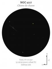 NGC 4217 au T200