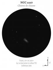 NGC 4449 au T200