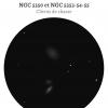 NGC 5350, NGC 5353, NGC 5354 et NGC 5355 (HCG 68) au T200