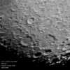 Lune Pôle Sud  samedi  2 mai 2020
