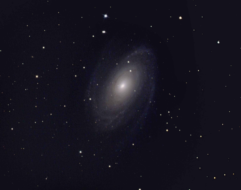 M81 le 4 avril 2020