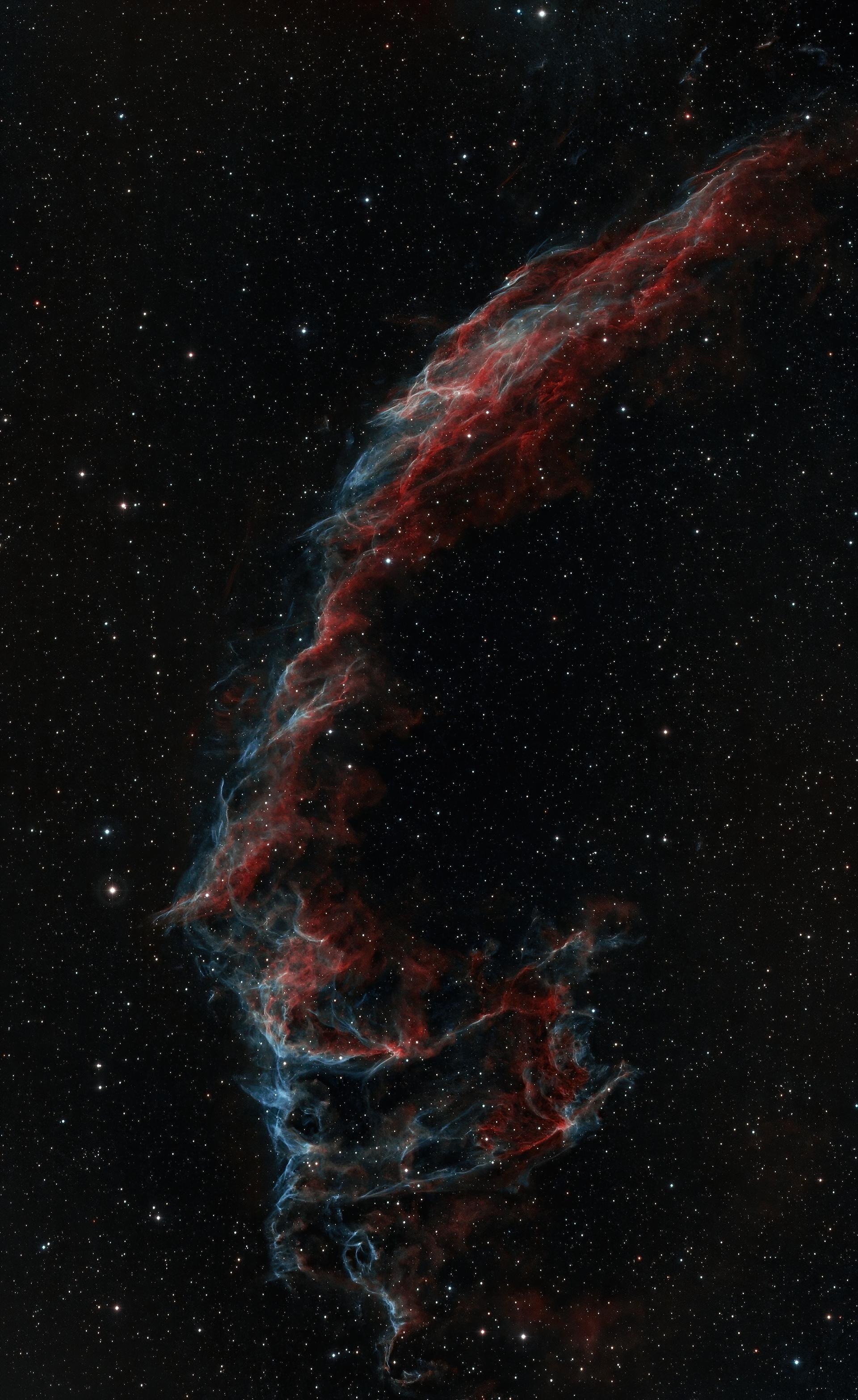 NGC6992 prise depuis Paris
