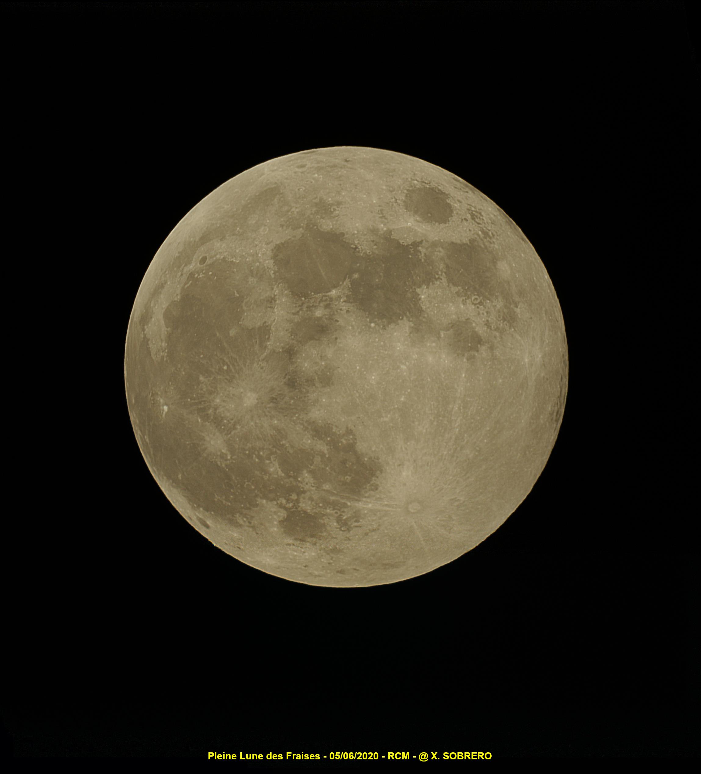 Pleine Lune des Fraises 05/06/2020