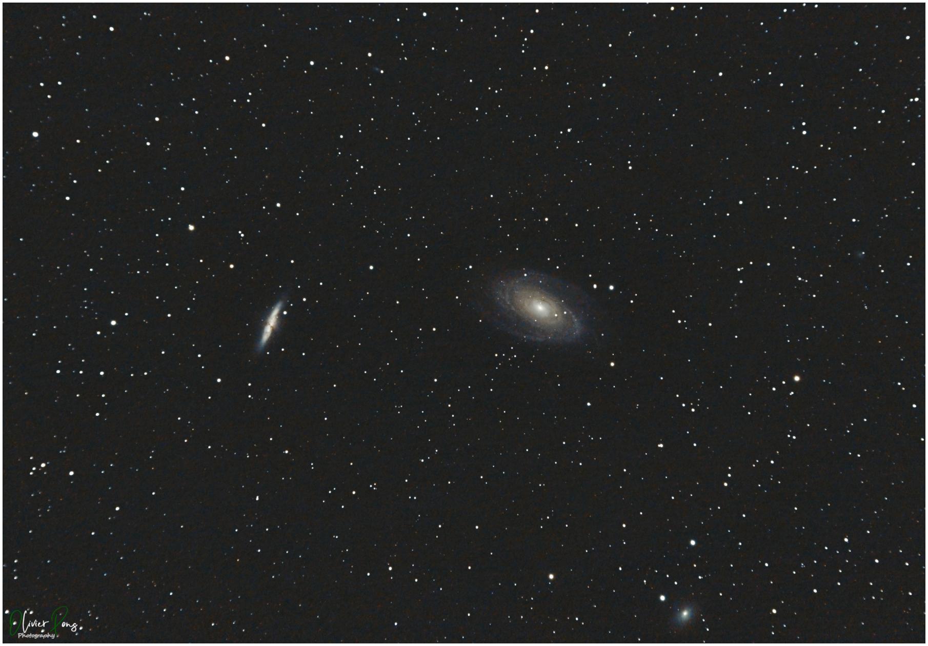 Messier 81 et 82