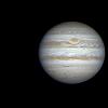 Jupiter  et  Europe  ,  le  10/12/2013  N200 , en  RGB  filtres  .