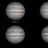 Jupiter  en  RGB  filtres  le  10/12/2013 , N200  .