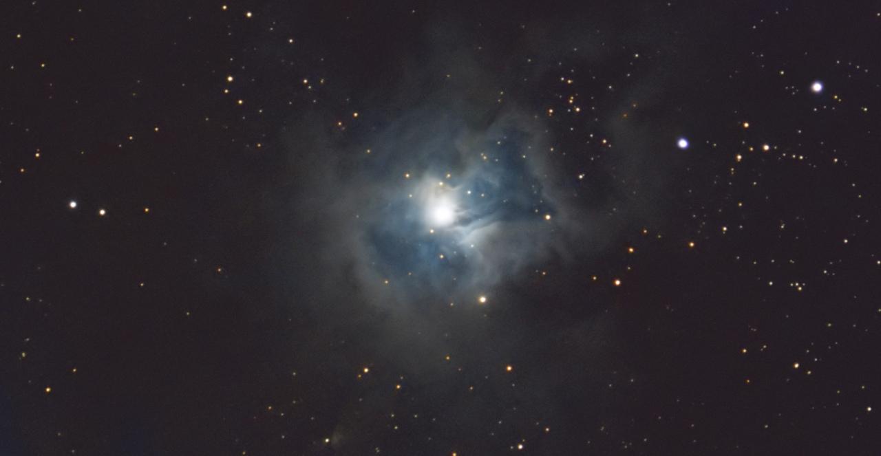 NGC 7023, la nébuleuse de l'Iris