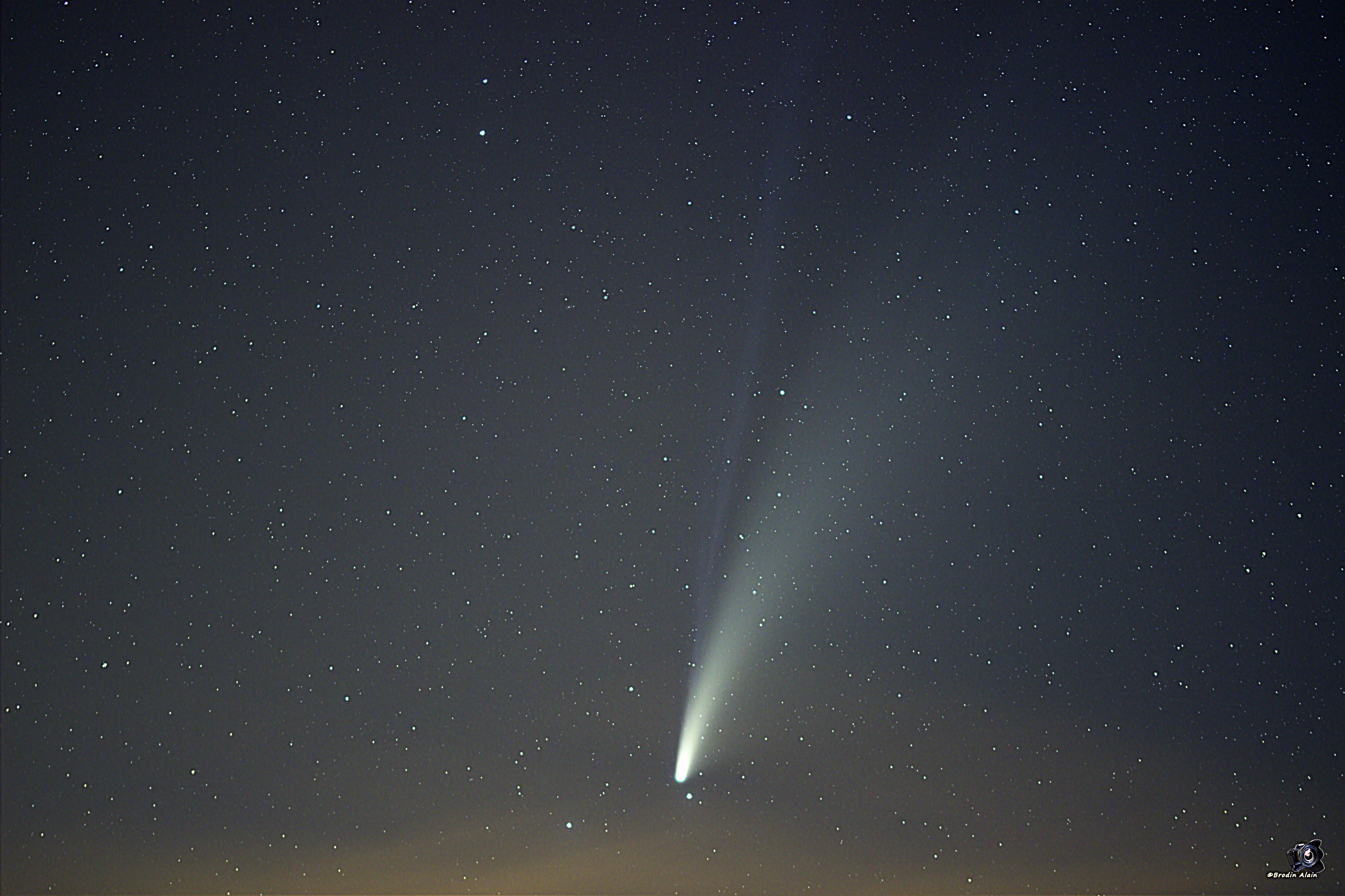 comete C3/2020 F3 NEOWISE