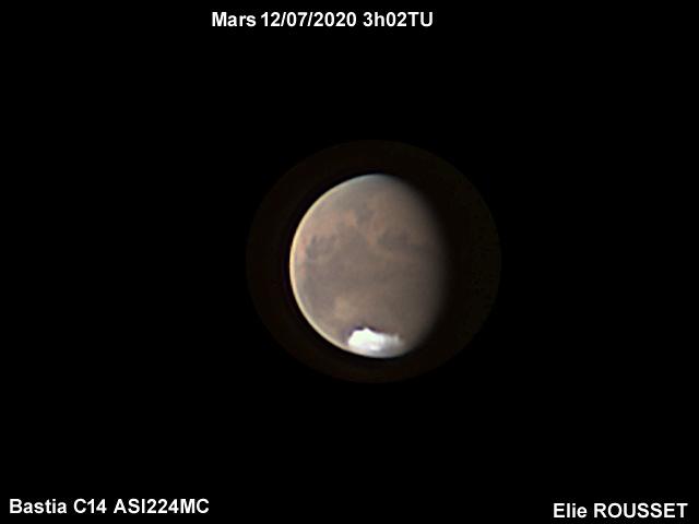Mars 12/07/2020 3h02TU C14 ASI224MC Bastia