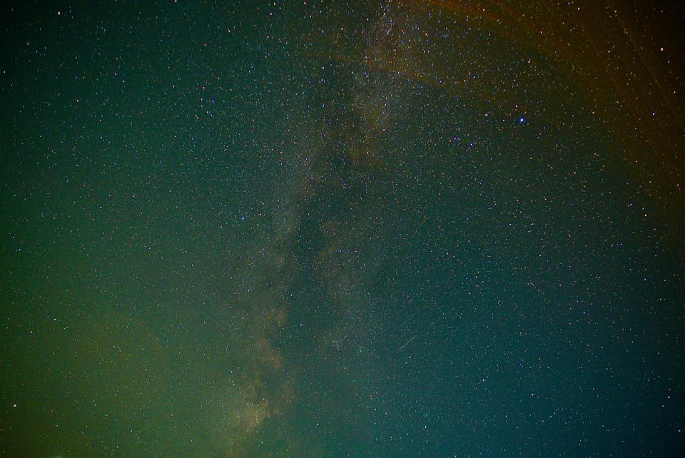 Voie Lactée ce soir-là ...