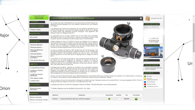 crayford hybride cassegrain prix neuf 259.00 euros.jpg