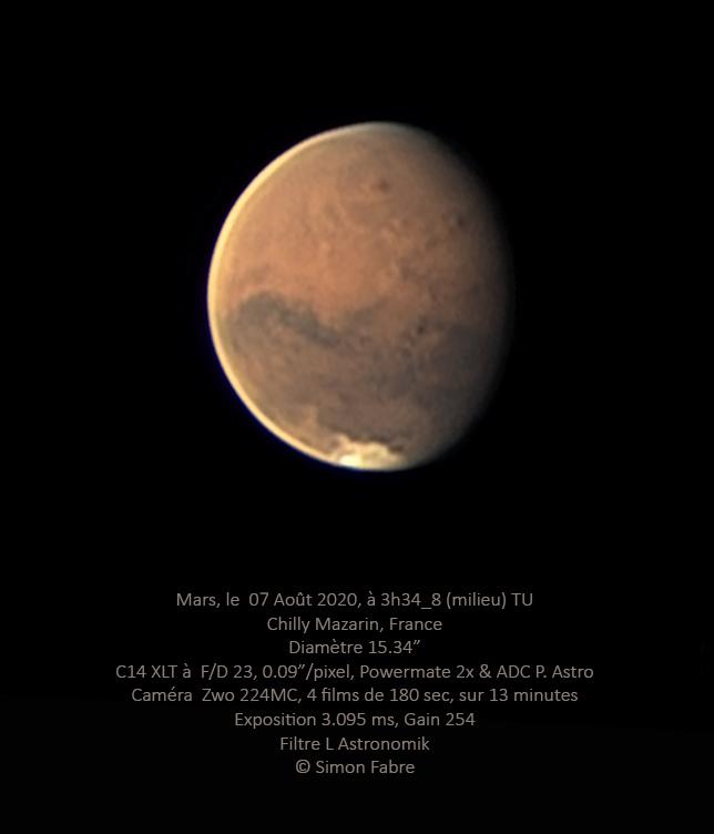 Mars du 7 Août au C14