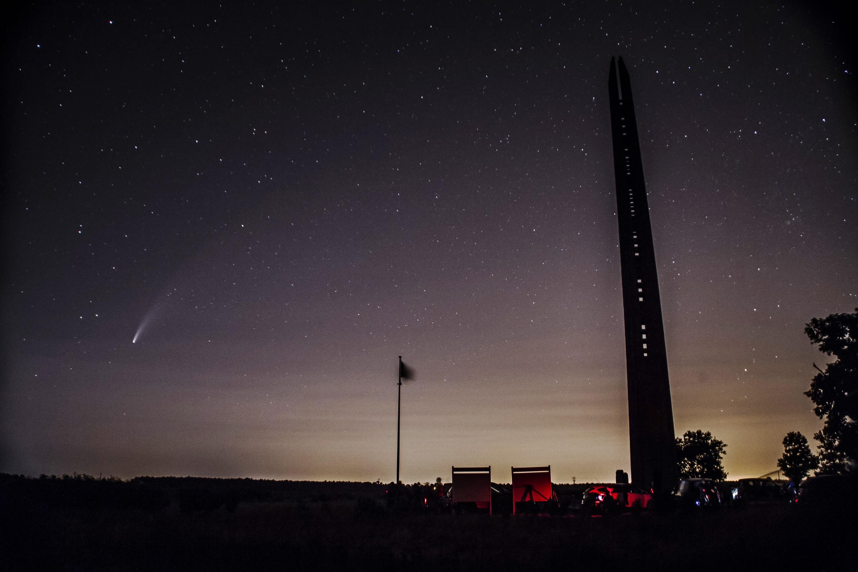 La comète NEOWISE frôle Bordeaux