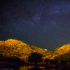 Starry Night Over Guadiana River