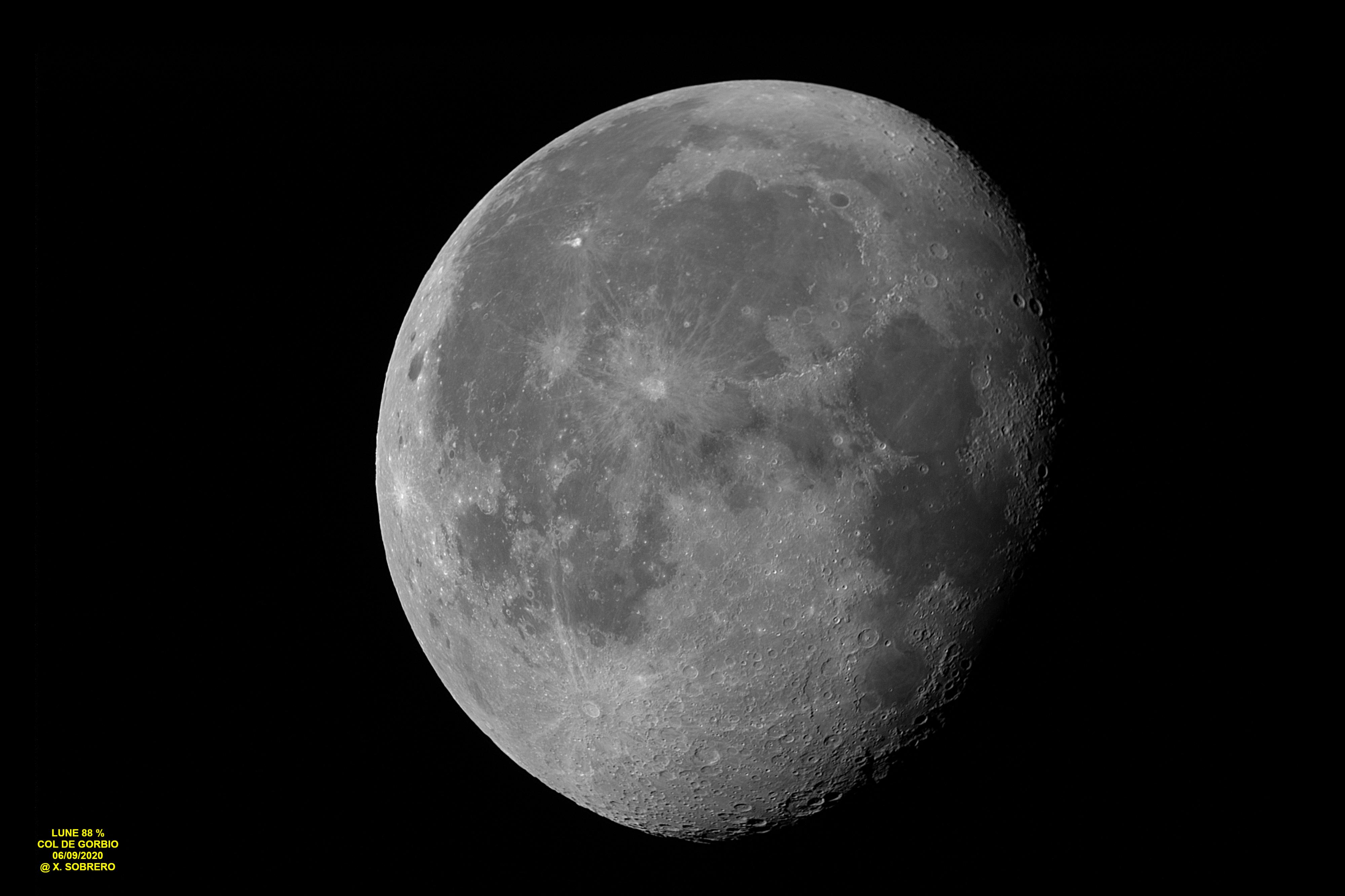 Lune 88 % le 06/09/2020