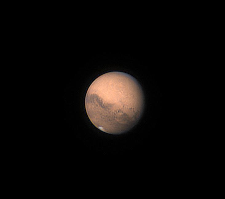 Mars du 12/09/20 colorisée (couleur empruntée à Christophe Pellier)