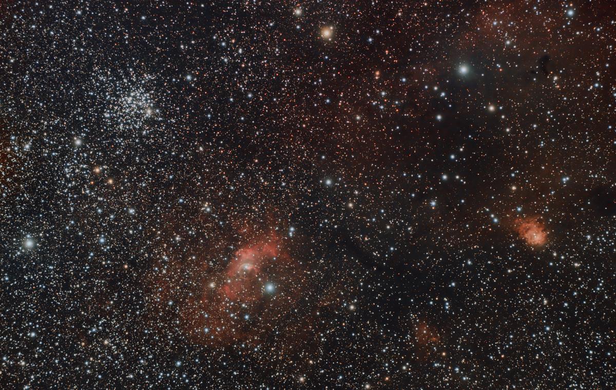 NGC7635, M52 & friends