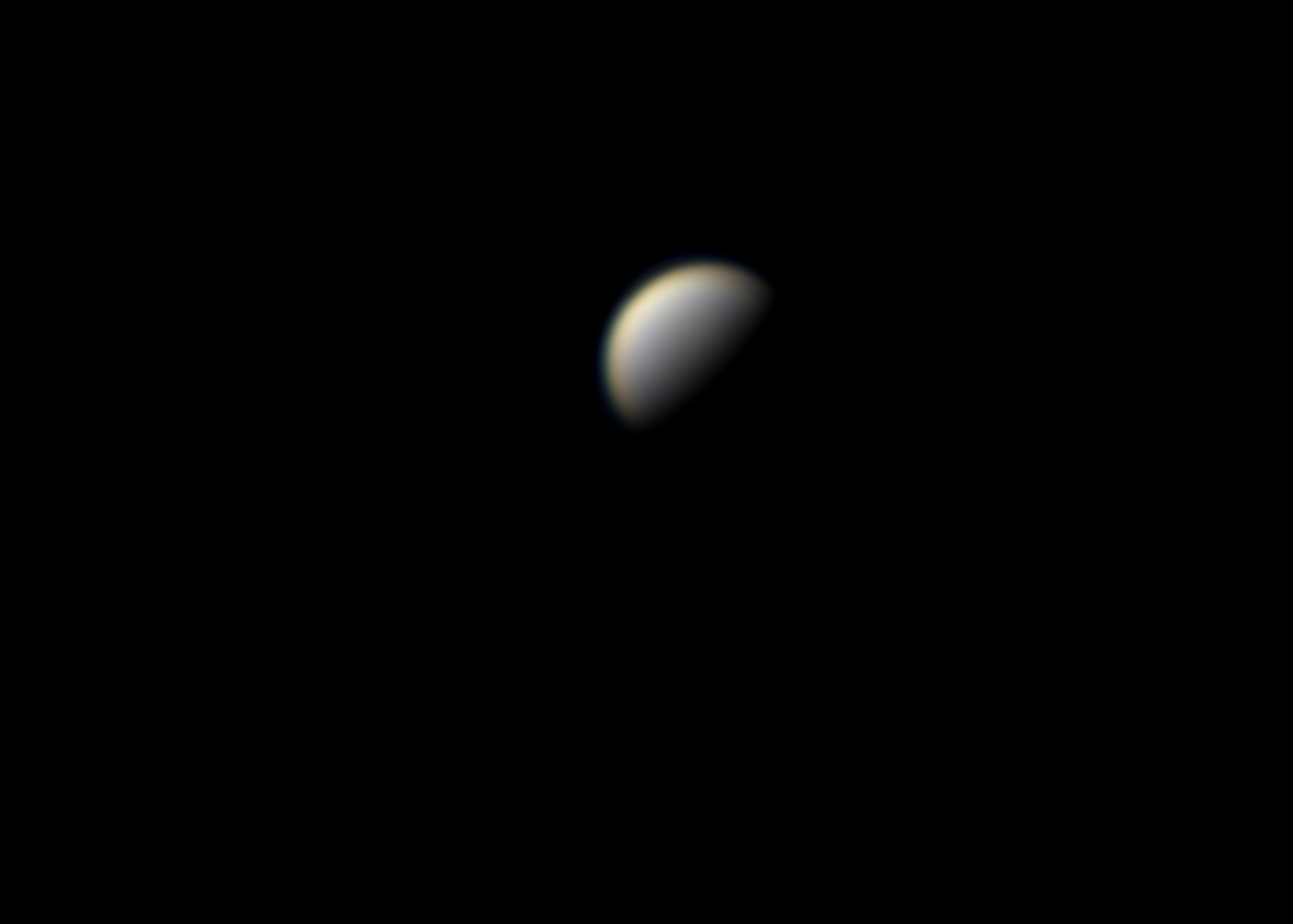 Venus du 15 septembre au MAK SW 150 + BW x 2 + GPCAM2 224C