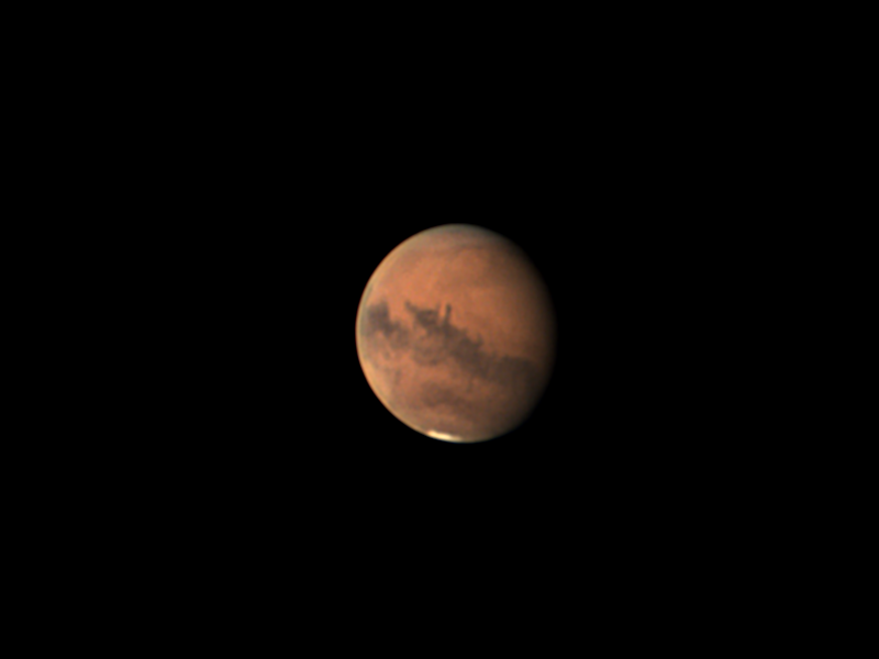 Mars couleur premier septembre 0h52TU