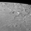 Zone pôle nord lunaire