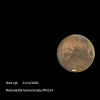 Mars le 22 octobre 2020 20h45TU
