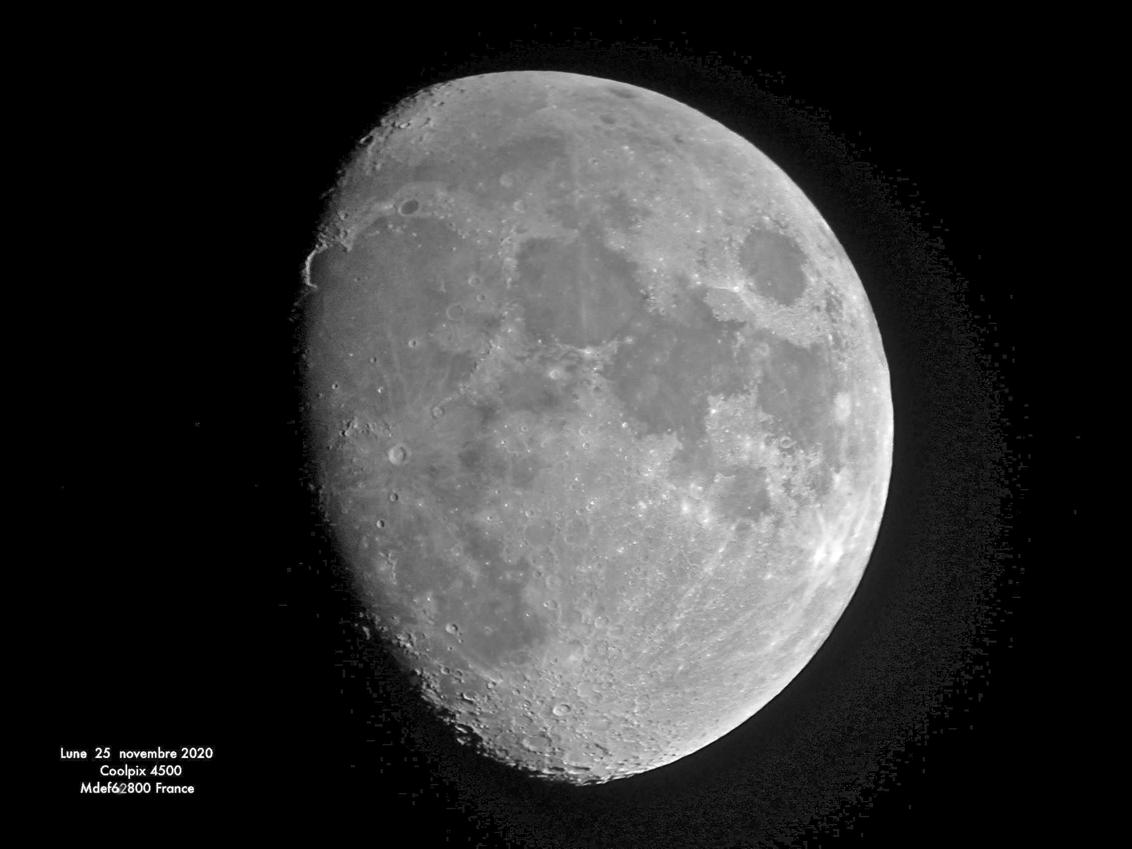 Lune du 25 novembre 2020