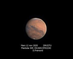 Mars 12 novembre 2020